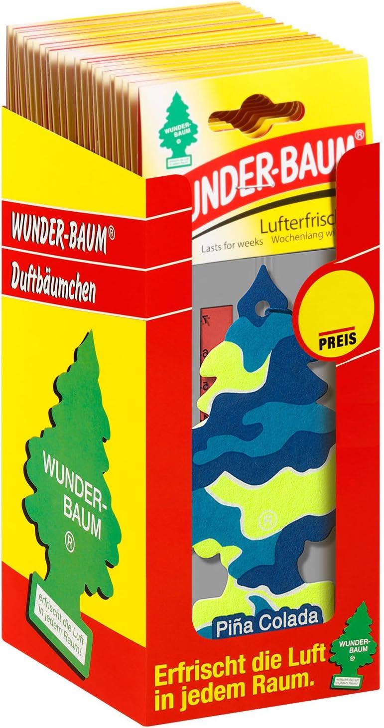 Wunder Baum 134301 24 Lufterfrischer 24 Er Box Pina Colada Auto