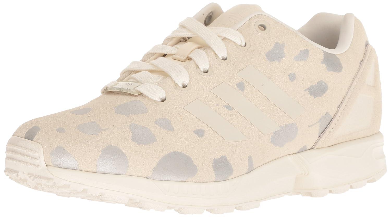 con descuento Adidas Originals Mujer ZX Flux W Lace Up Fashion Sneaker Off Blanco/Legacy/Metallic plata Solid Tienda online