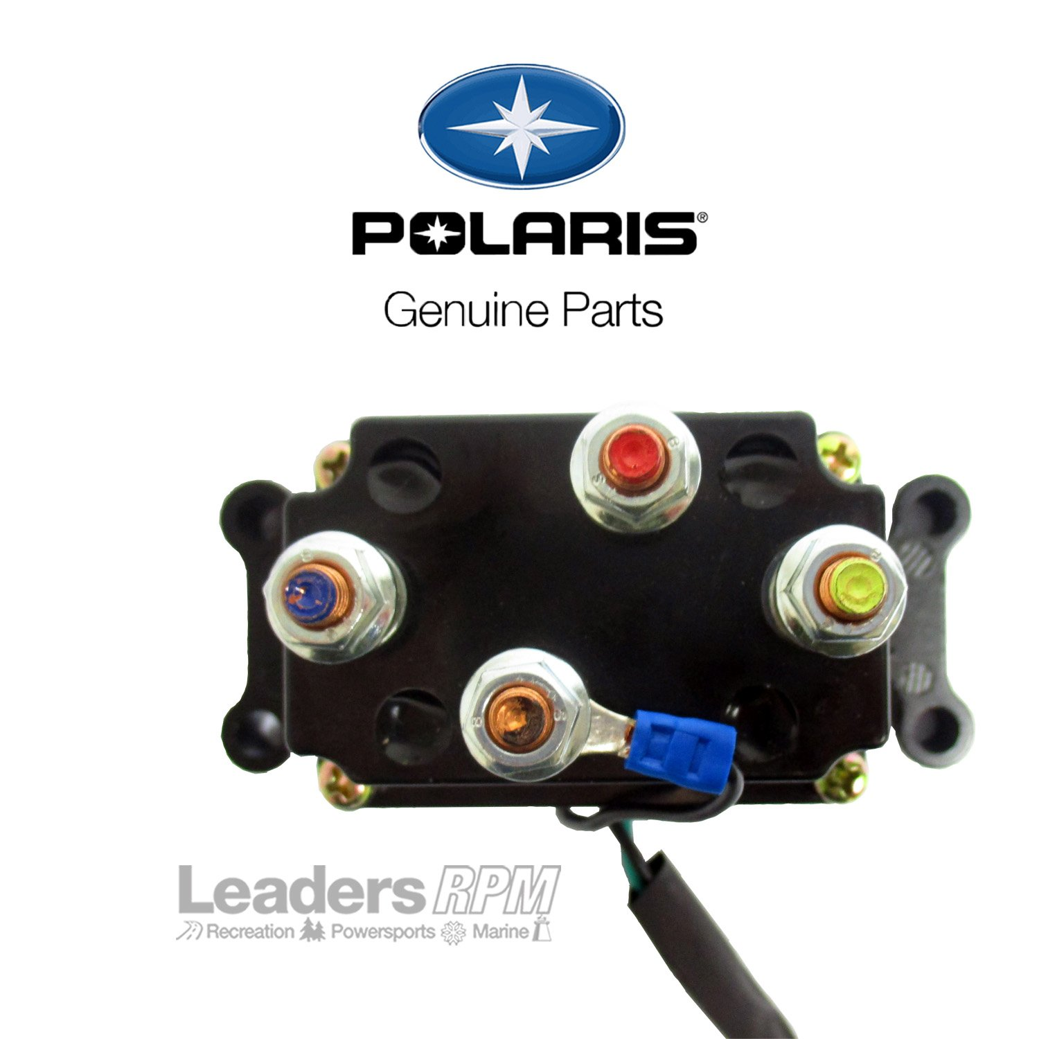 Polaris New Oem Winch Contactor Solenoid 4013465 Wiring Diagram Automotive