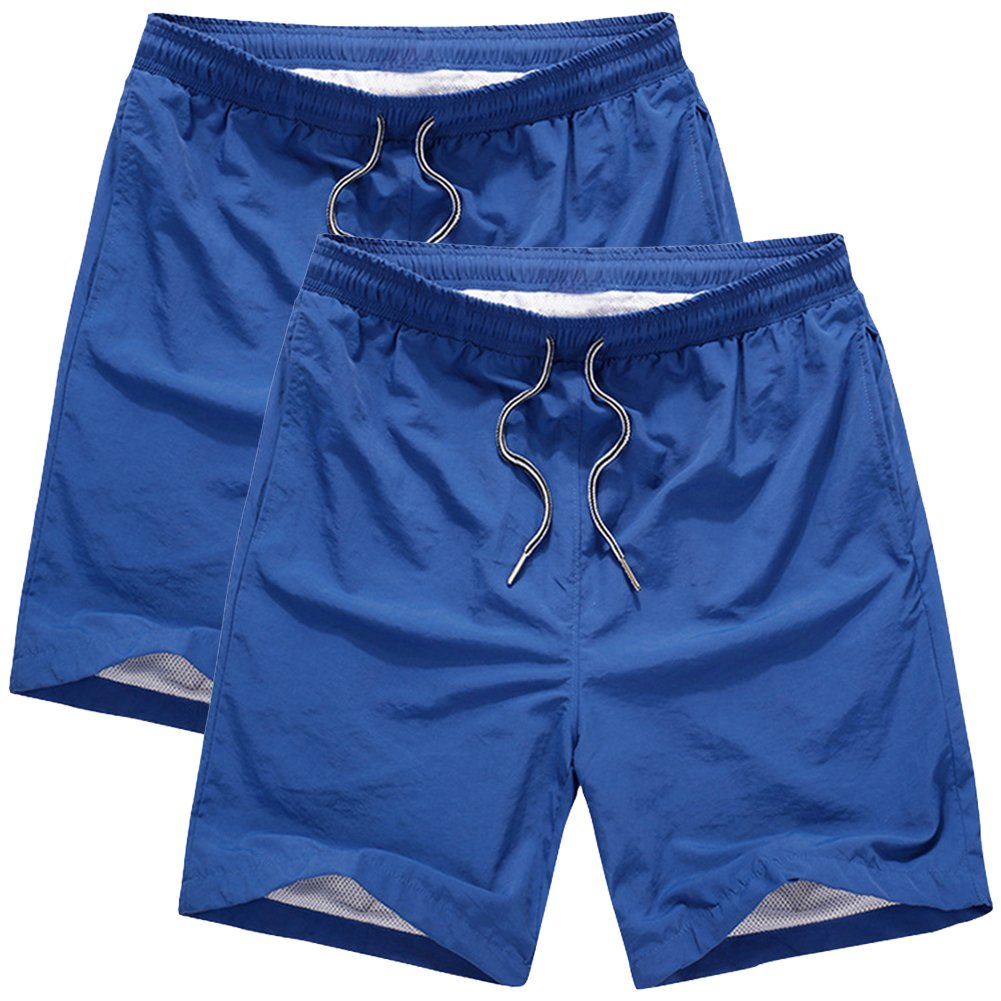 Toomett Big Boys Swim Trunks Quick Dry Waterproof Beach Shorts for Surfing Running Swimming Watersport #M2221