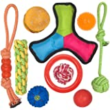 Small Dog Toys Set Ball Rope and Chew Toys for Small to Medium Dog Puppy Toys