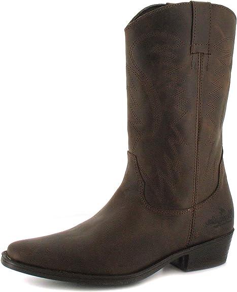 Slip On Cowboy Boots