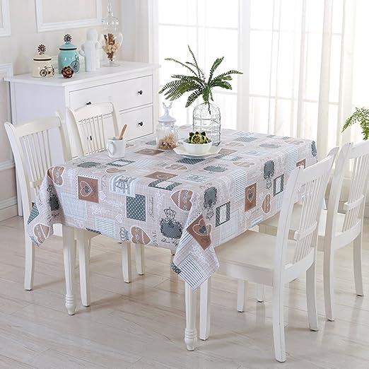 CAN_Deal Manteles mesa rectangular - mantel antimanchas - vintage ...