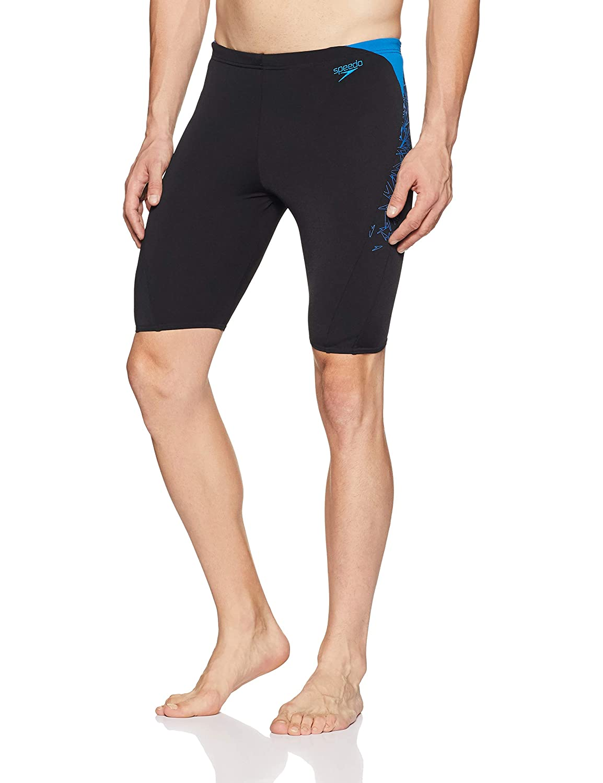 0ce1d65490e Speedo Male Swimwear Boom Splice Jammer  Amazon.in  Clothing   Accessories