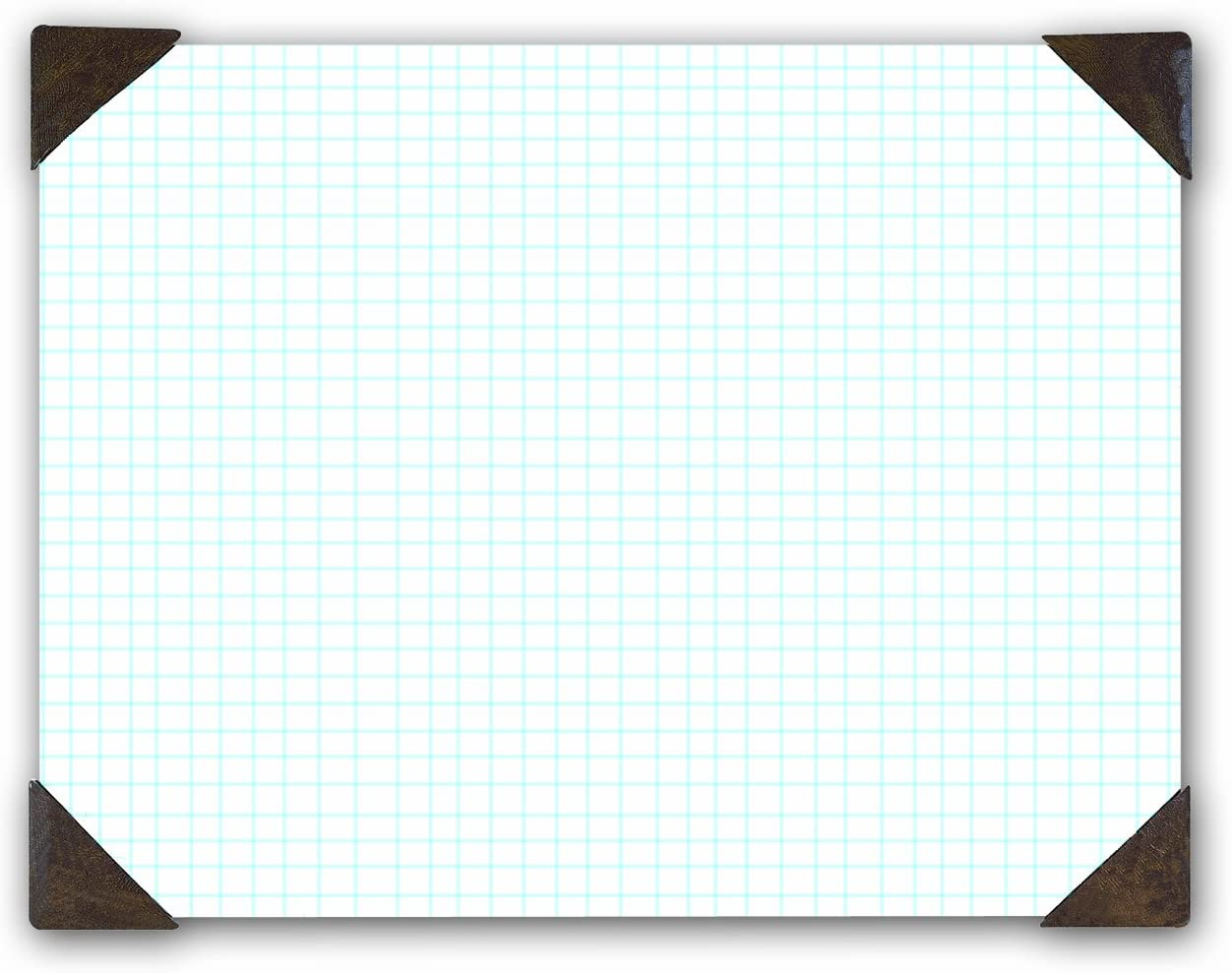 House of Doolittle Doodle Desk Pad, Quadrille, Refillable, 22 x 17 Inches (HOD41003) : Office Desk Pads And Blotters : Office Products
