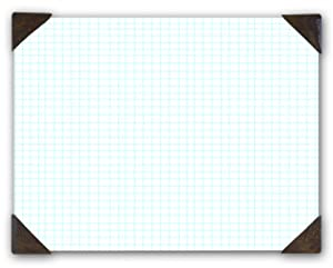 House of Doolittle Doodle Desk Pad, Quadrille, Refillable, 22 x 17 Inches (HOD41003)