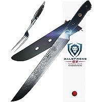 "DALSTRONG Carving Knife & Fork Set - Shogun Series -9"" - AUS-10V - Sheath"