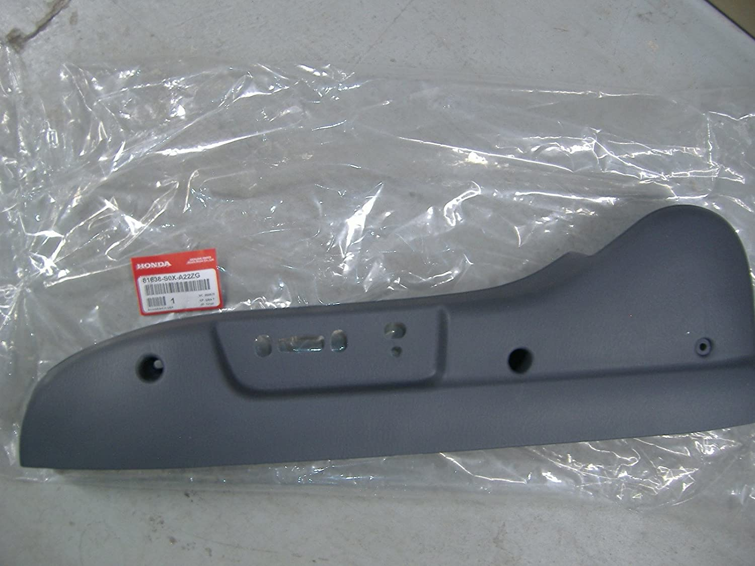 Right Front Honda Genuine 81131-SJC-A51ZB Seat Cushion Trim Cover