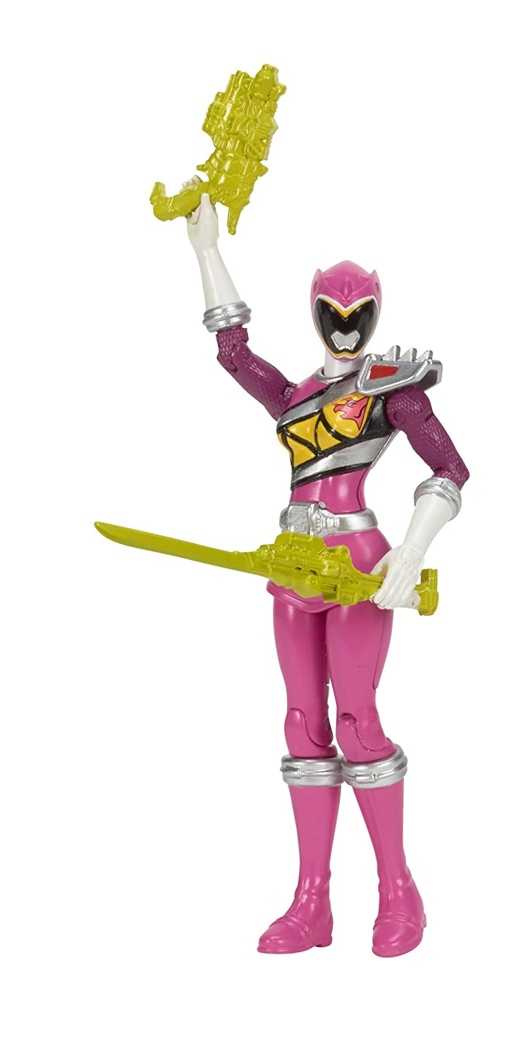 Pink 5 Bandai America Incorporated 43203 5 Power Rangers Dino Super Charge Hero Action Figure