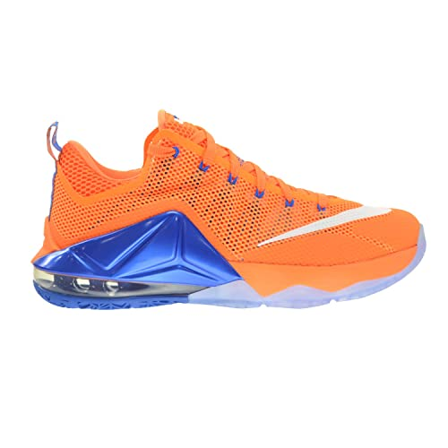 brand new 4a671 5f073 Nike Lebron XII Low Hardwood Classic Mens' Shoes Bright ...