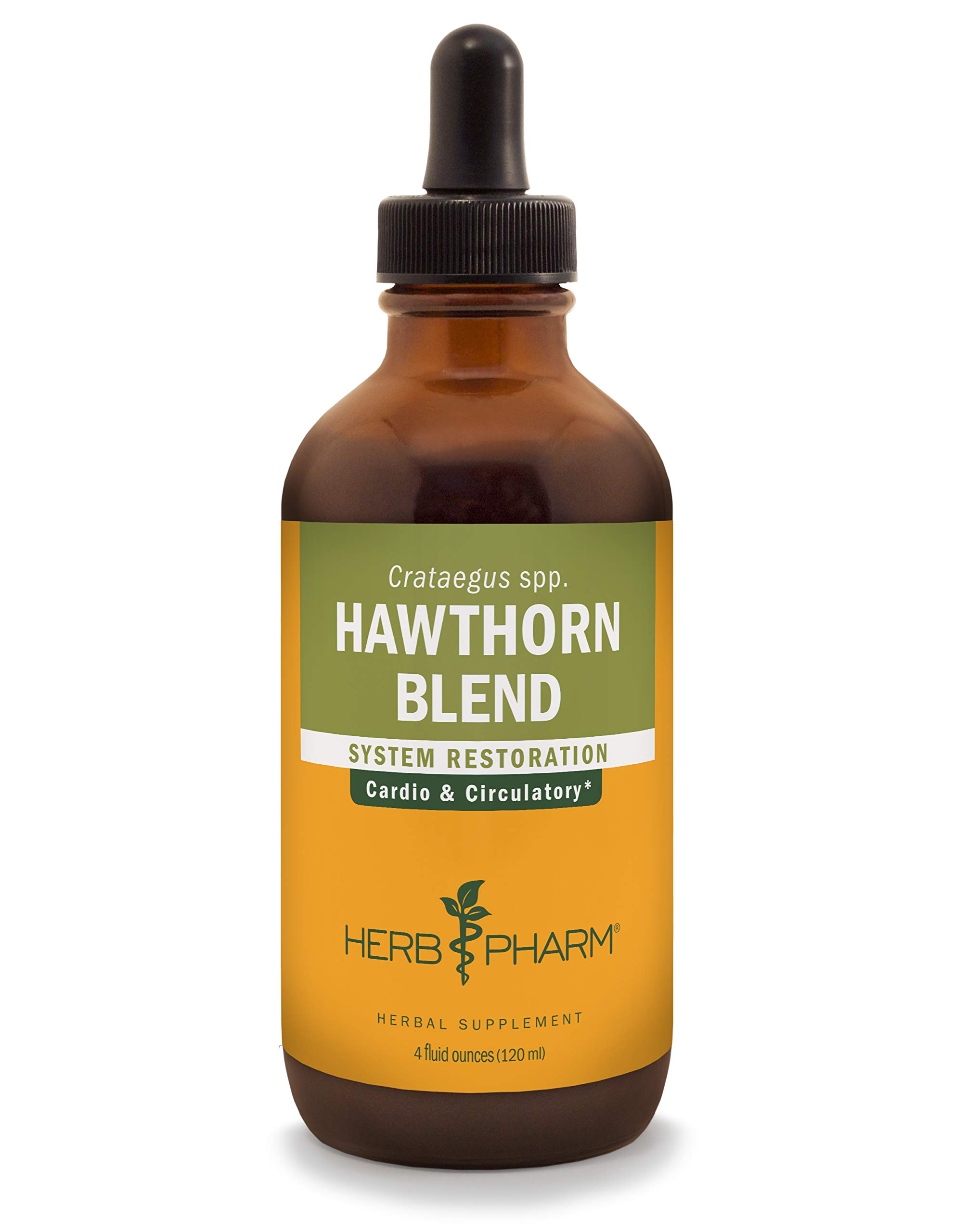 Herb Pharm Hawthorn Blend Liquid Extract for Cardiovascular and Circulatory Support - 4 Ounce