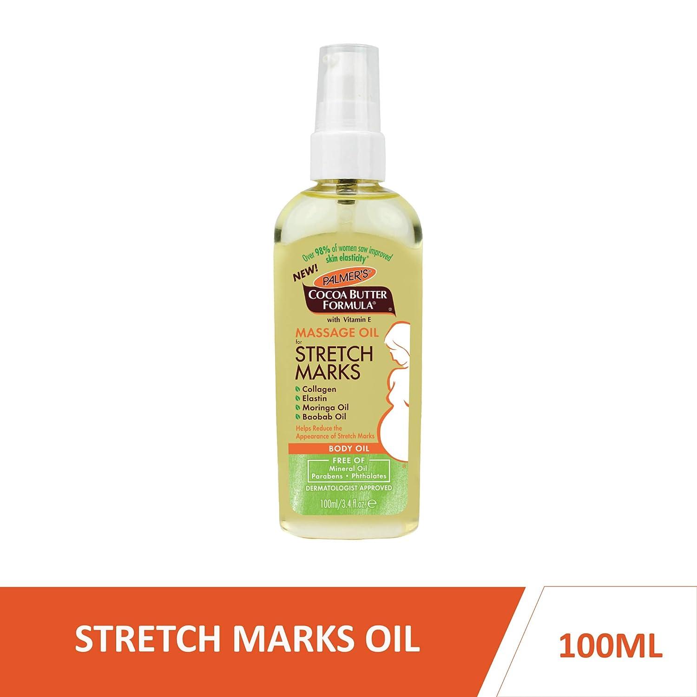 Amazon Com Palmer S Cocoa Butter Formula Massage Oil For Stretch