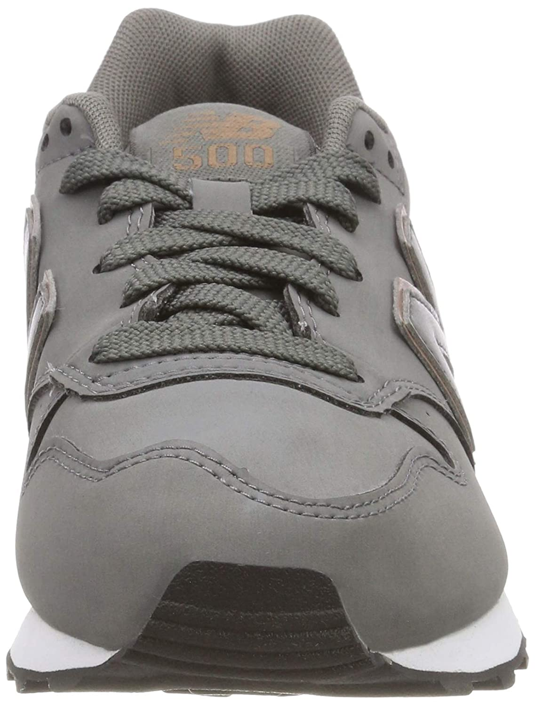 low cost 4cfbe 9a58b New Balance Damen 500 Sneaker, Grau (Grau/Rose (Grau/Rose ...