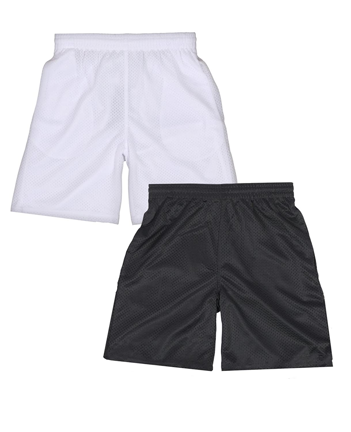Galaxy by Harvic Boys Active Mesh Basketball Short (2 Pack)