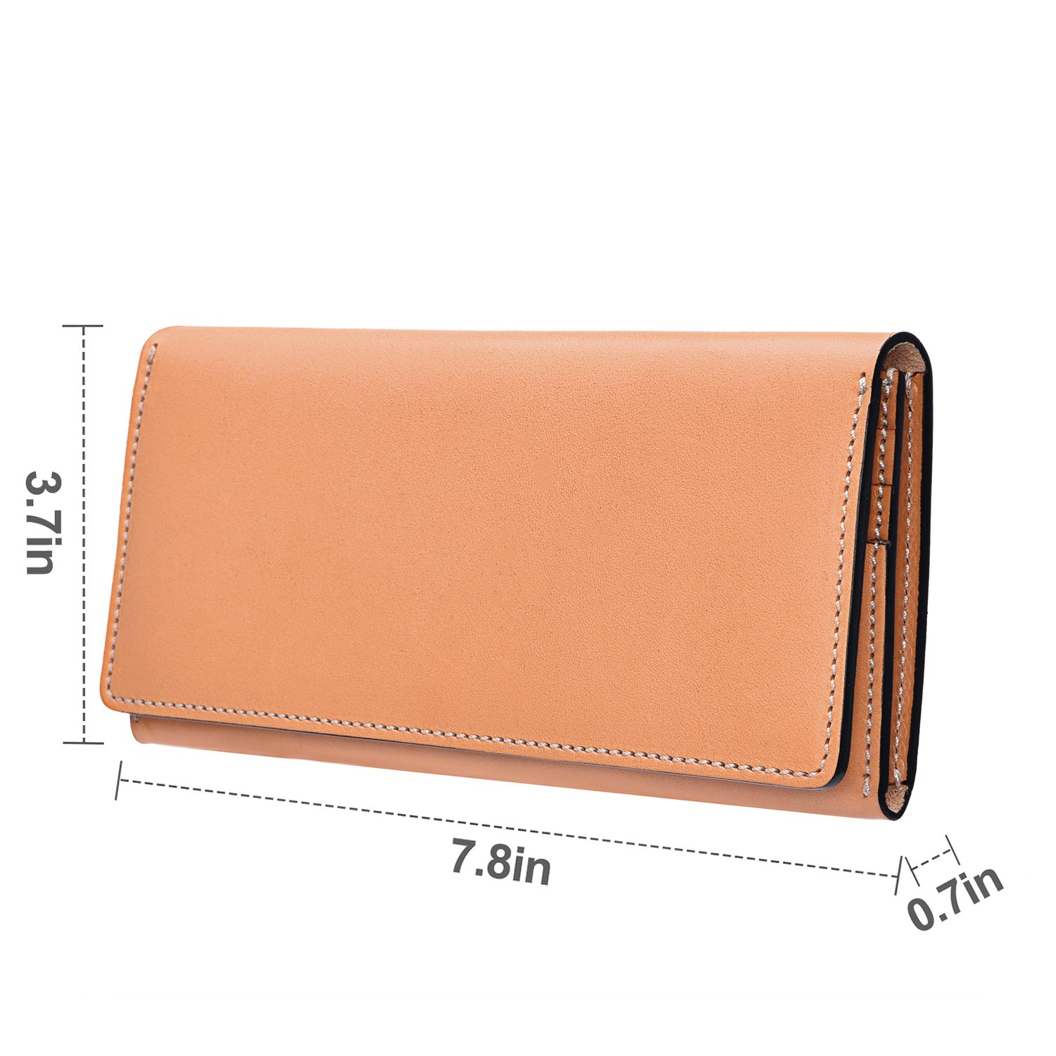 6949c6bcdd94 GRM Mens Wallet Genuine Leather Bifold Purse Card Holder with ID ...