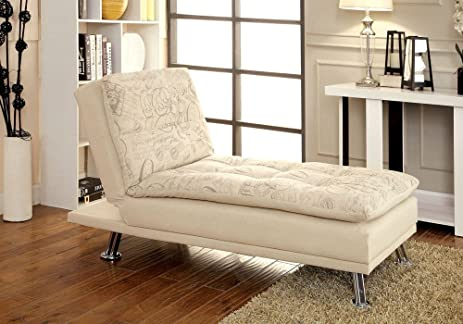 Amazon 1PerfectChoice Hauser Convertible Chaise Lounge Futon