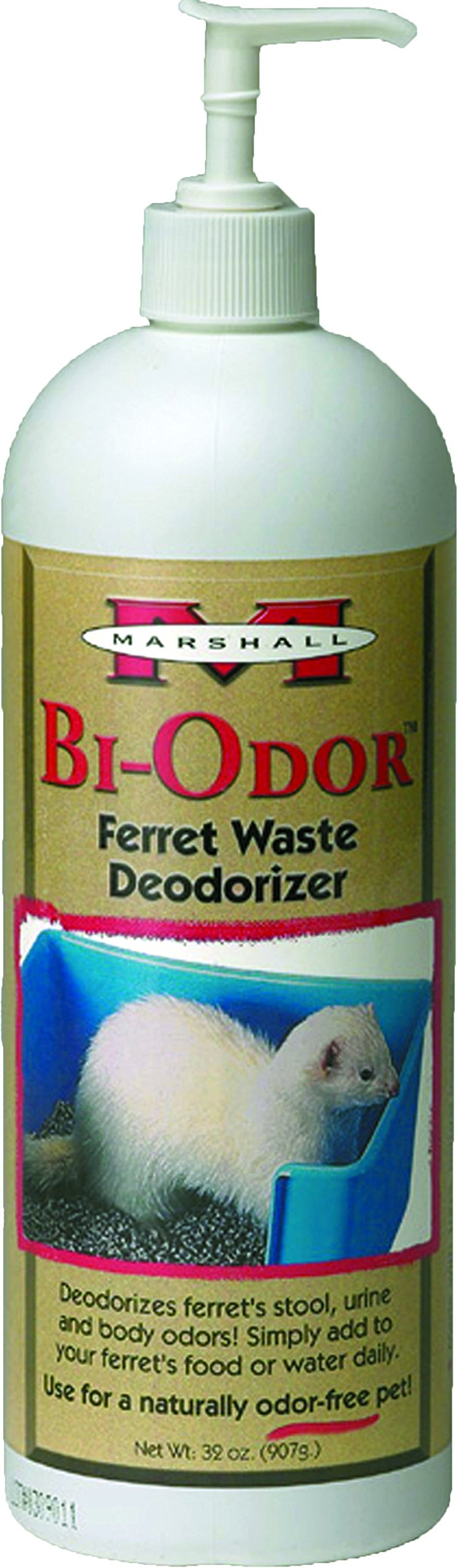 GoodBye Odor for Ferrets, 32 Ounce by Marshall Pet Products