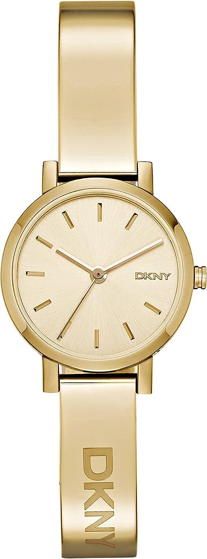 DKNY Reloj analogico para Mujer de Cuarzo con Correa en Acero Inoxidable NY2307