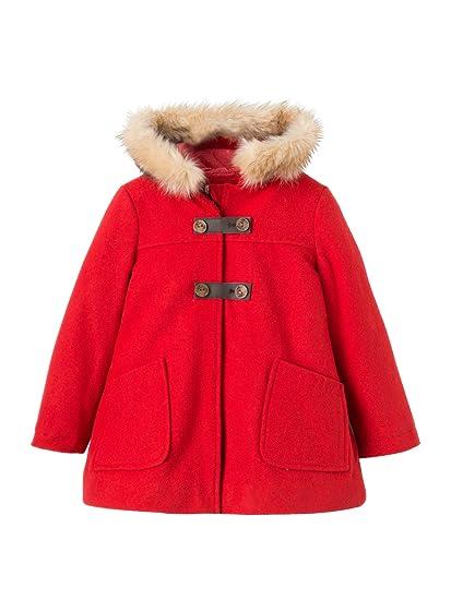 9cda58a55727 Vertbaudet Girls  Wool Mix Coat  Amazon.co.uk  Clothing
