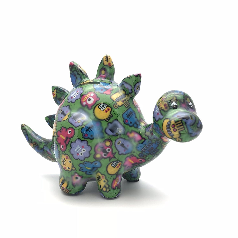 Hucha con dise/ño de robots Pomme Pidou Zorc The Dinosaur