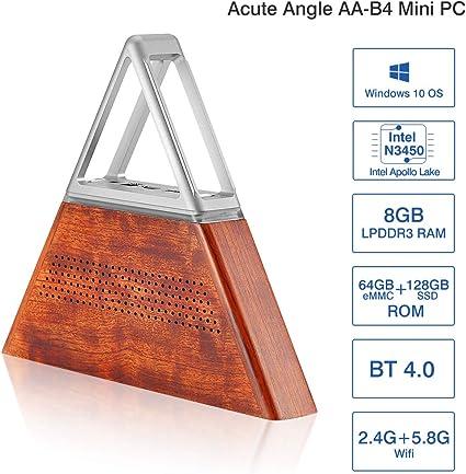 Acute Angle AA-B4 DIY Mini PC 8 GB de RAM+64 GB EMMC +