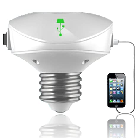Usb Light Bulb Lampcharger Lamp Adapter And Usb Rechargeable Light