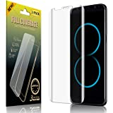 """eSamcore Samsung Galaxy S8 Screen Protector Easy Application, [2-Pack] Anti-bubble Case Friendly [Full Coverage] Soft HD Clear Film for Galaxy S8 5.8"""" display"""