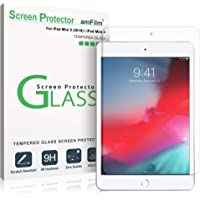amFilm Glass Screen Protector for iPad Mini 5 (2019) and iPad Mini 4, Tempered Glass