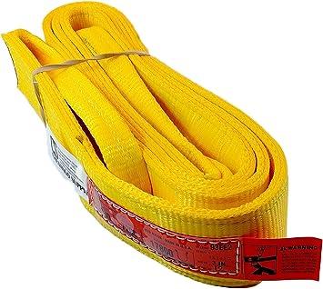 lbs 3,200 Vertical Inc. Made in the USA 900 webbing DD Sling Eye /& Eye USA Made Heavy Duty 1-PLY 6,400 lbs Basket Load Capacity Chenango Supply Co 2,500 lbs Choker Multiple Lengths in Listing! 2x10 2 Width Nylon Lifting Web Sling