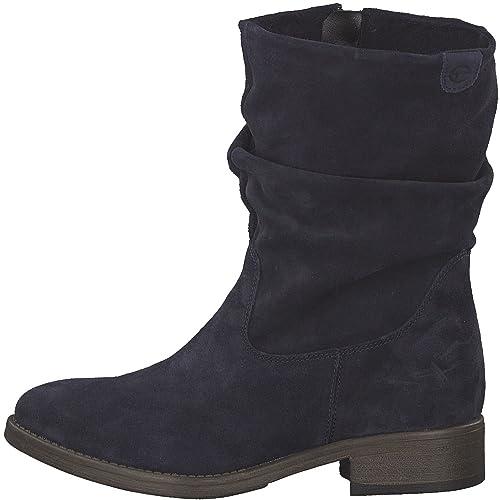 Tamaris Mujer Botas 25472 – 21, Mujeres Boots, Cremallera, Bloque de tacón 3