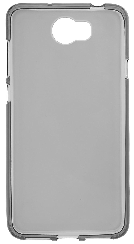 mumbi Schutzh/ülle f/ür Huawei Y6 II H/ülle transparent schwarz