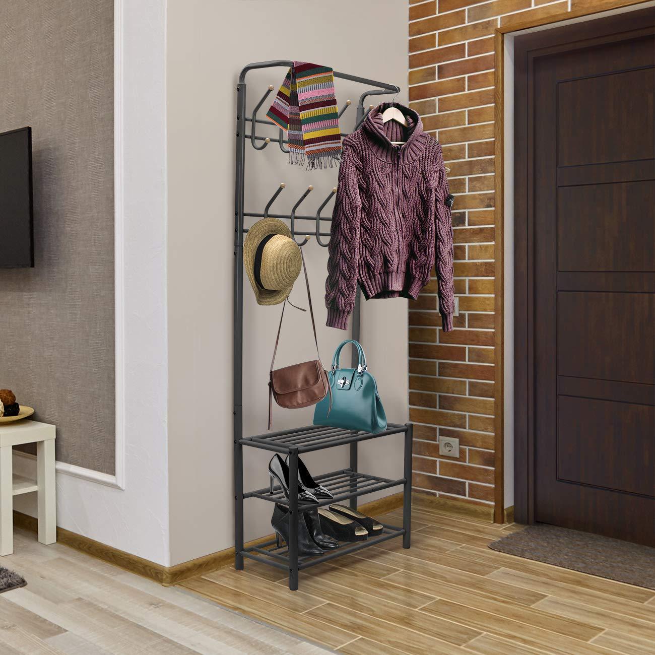 Amazon.com: Sorbus – Banco para zapatos, para pasillo ...