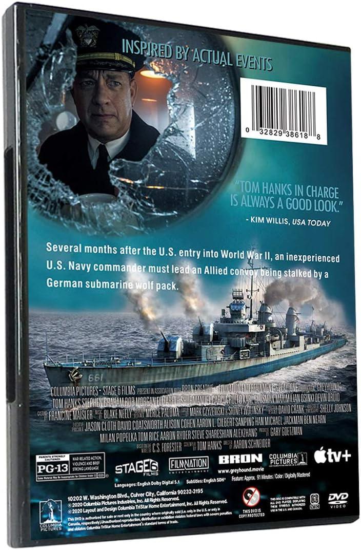 Greyhound DVD,1 Disc