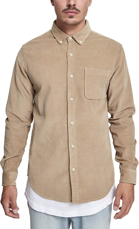 Urban Classics Corduroy Shirt Camisa Casual para Hombre