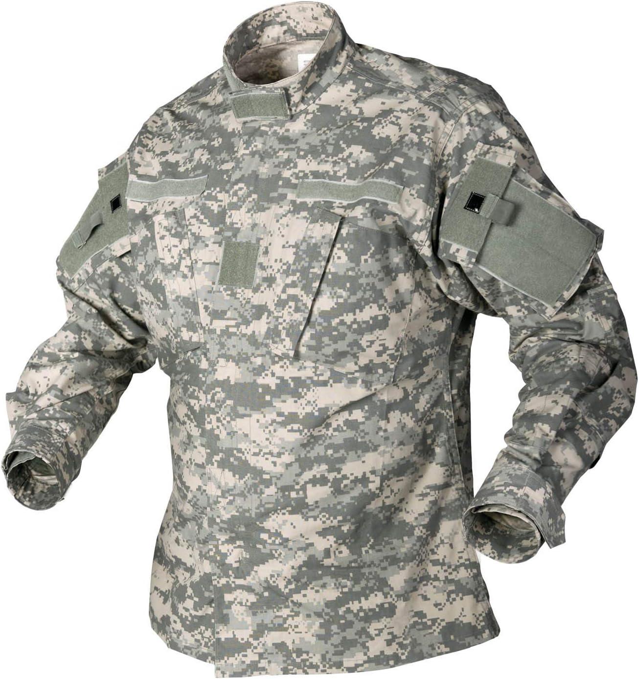 Helikon ACU Combate Camisa Polycotton Ripstop ACU digital: Amazon ...