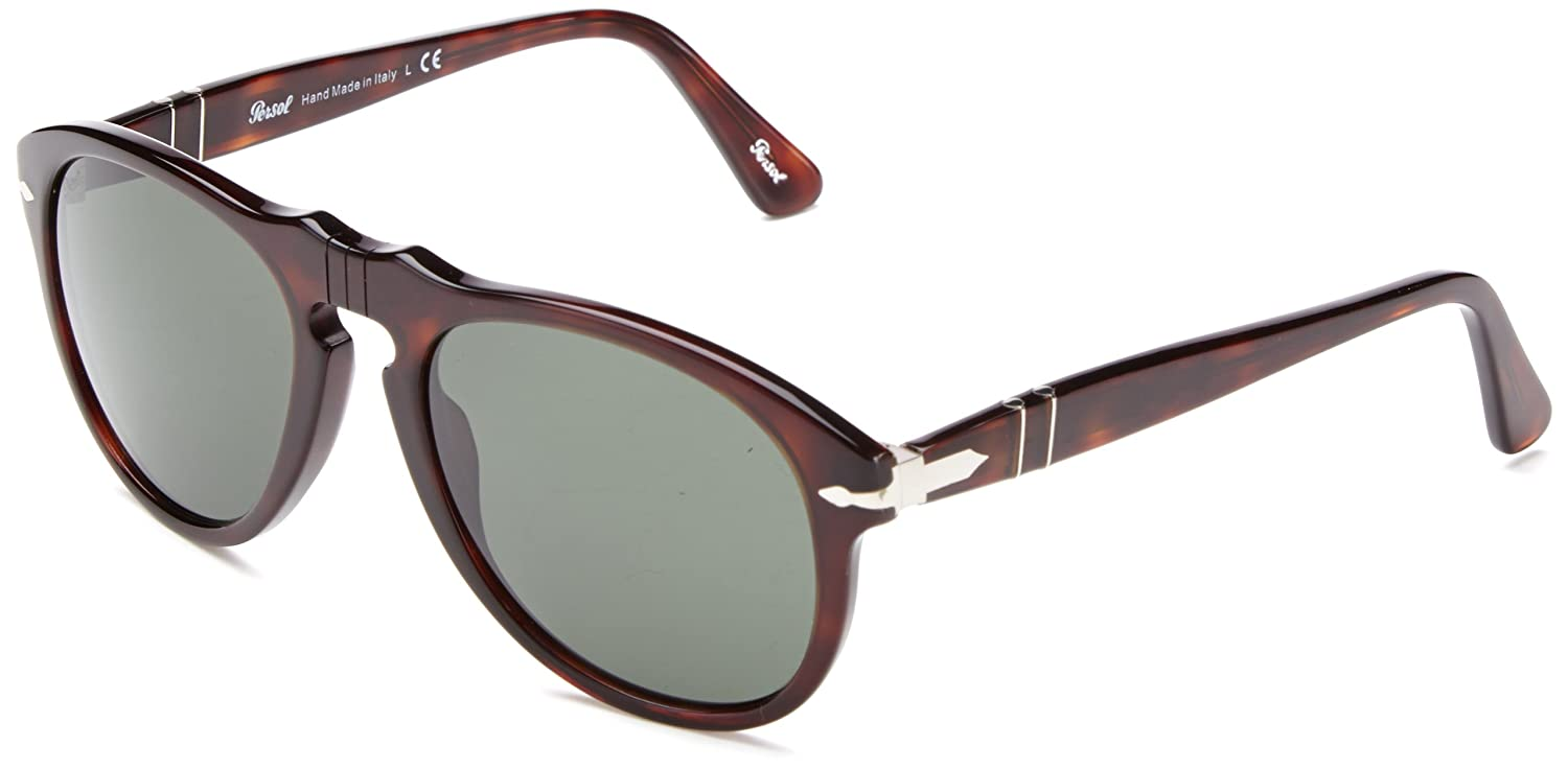 48f20469c33ab Amazon.com  Persol Men s 0PO0649 Square Polarized Sunglasses  Shoes