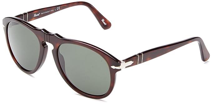 a1c74c128644 Persol PO0649 24/31 Havana PO0649 Pilot Sunglasses Lens Category 3 Size  54mm: Persol: Amazon.co.uk: Clothing