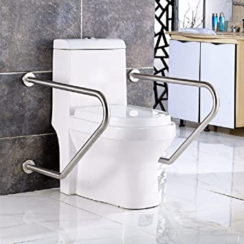 WAZZJ Stainless Steel Handrails, Disabled Bathroom, The Elderly, Disabled  People, Disabled Handrails