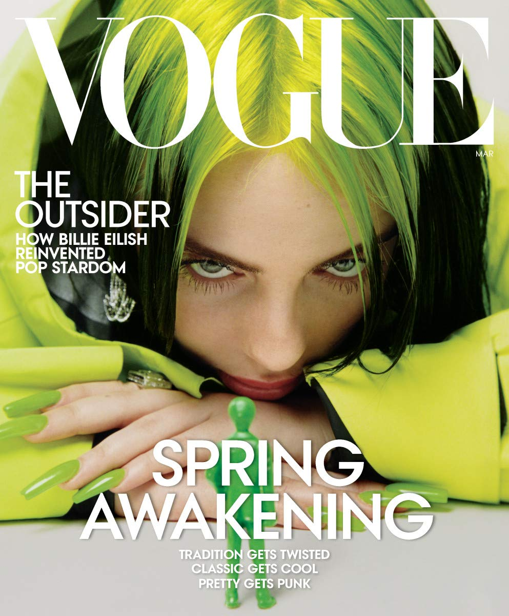 Amazon.com: Vogue Magazine (March, 2020) Billie Eilish Cover: Anna Wintour:  Books