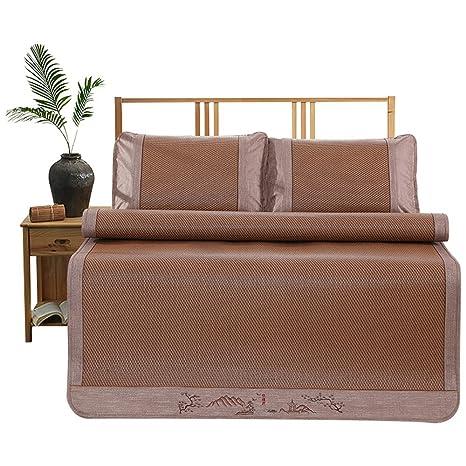 Estera para dormir YNN Colchoneta colchón Topper Pad Cooling Summer Sleeping Mat y Pillow Shams Sets