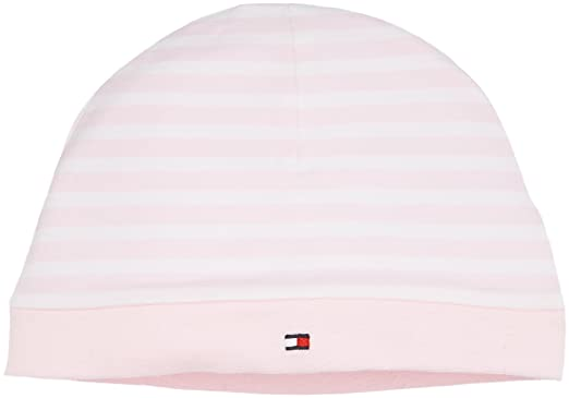 3015b7e5e743 Image Unavailable. Image not available for. Colour  Tommy Hilfiger Girls   Stripe Baby HAT ...