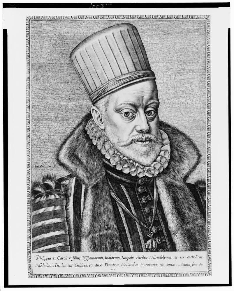 Foto: Felipe II de España, rey de España, 1527 – 1598: Amazon.es: Hogar