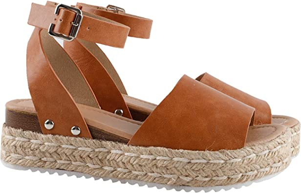 Gnpolo Womens Espadrille Wedge Sandals
