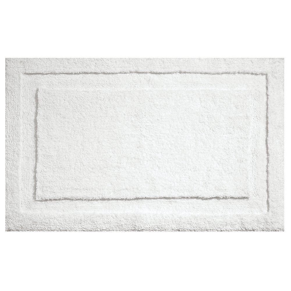 Amazon.com: InterDesign Microfiber Spa Bathroom Accent Rug, 21 X 17, White:  Home U0026 Kitchen