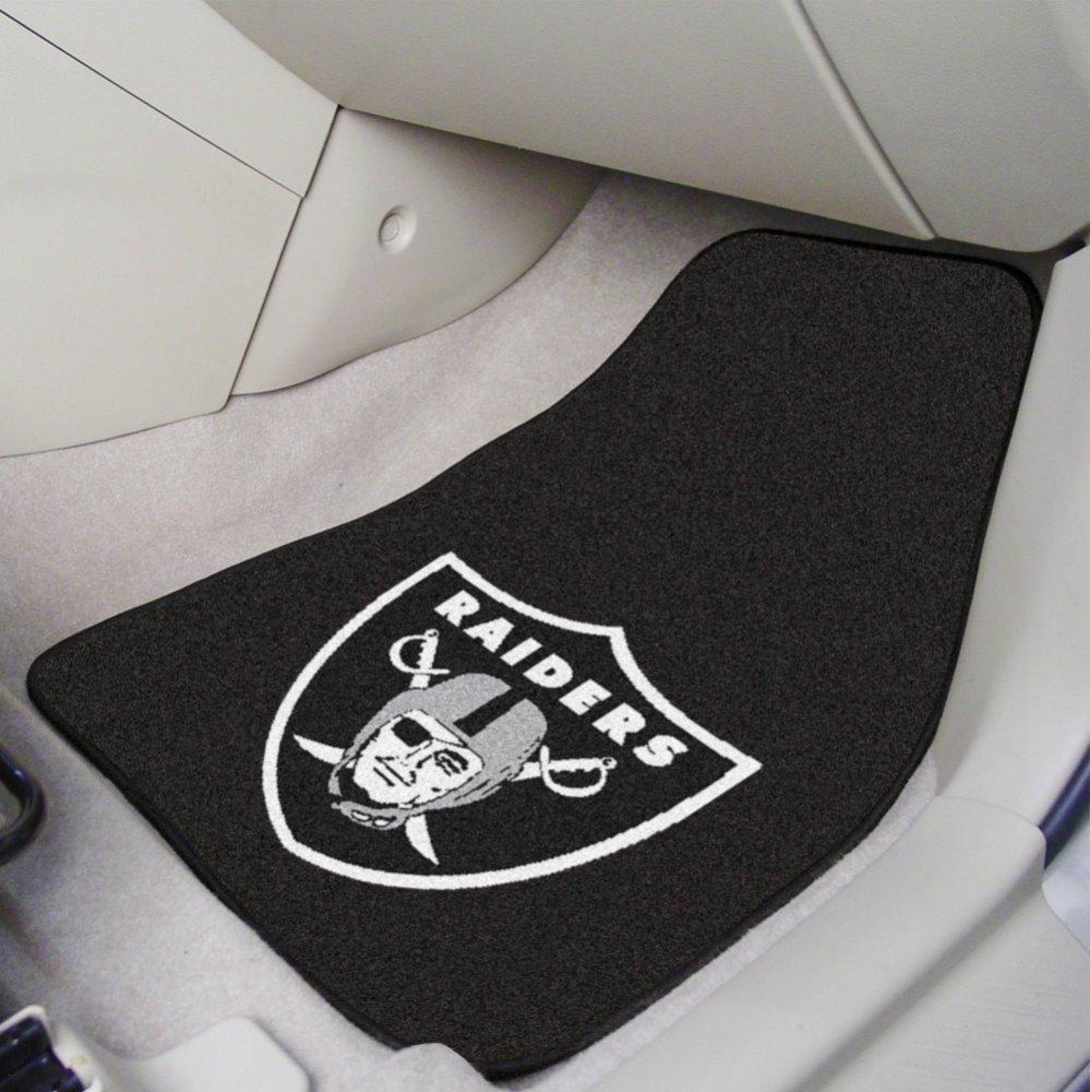 Oakland Raiders NFL Car Floor Mats (2 Front) Fan Mats 5934
