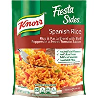Knorr Fiesta Sides: Spanish Rice (Pack of 4) 5.6 oz Bags
