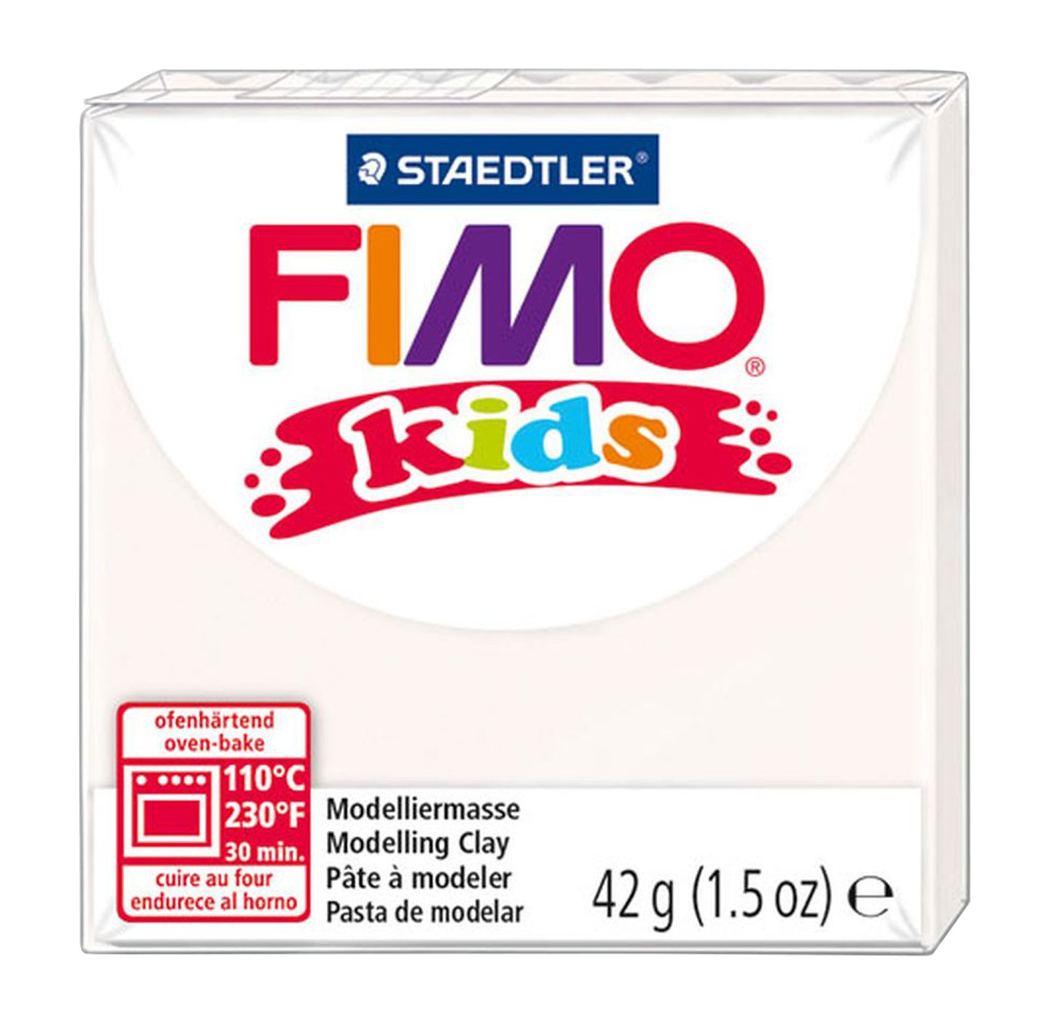 Fimo Kids Pastel Set, Assorted, Pack of 6 Staedtler CP8032-1