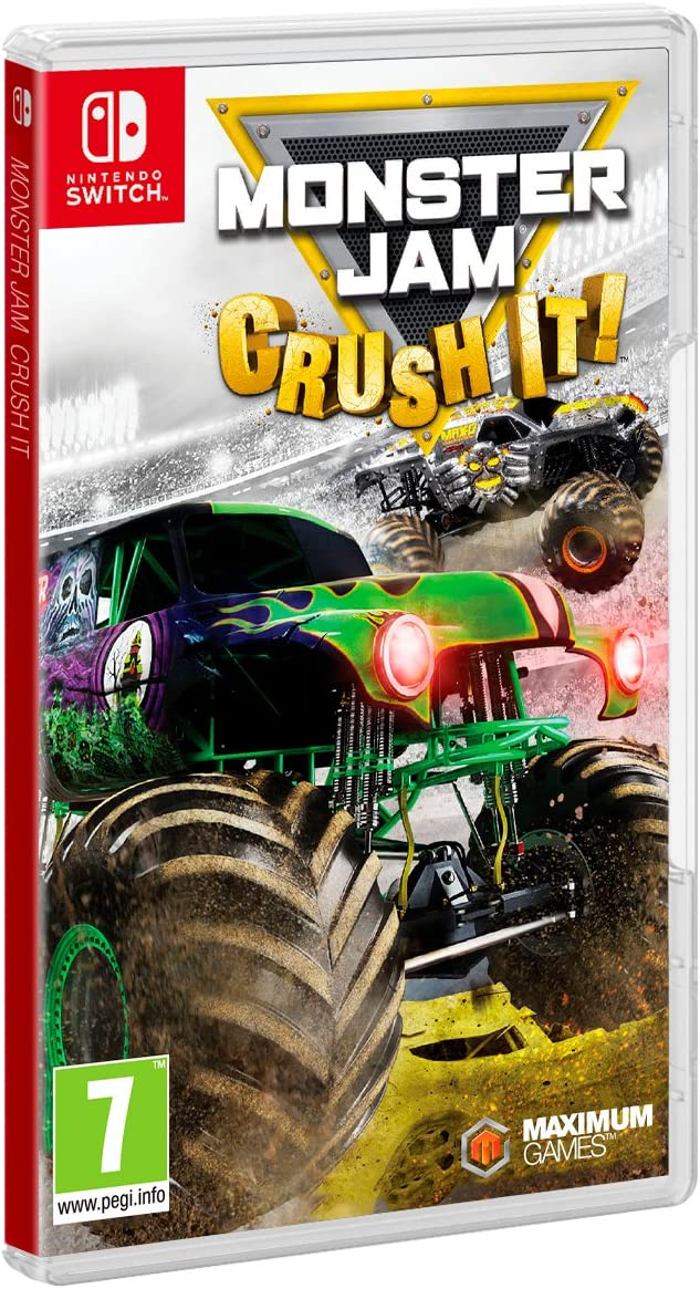 Monster Jam: Crush It! - Nintendo Switch [Importación inglesa]: Amazon.es: Videojuegos