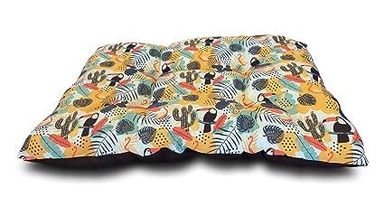 @Margot Cama, colchón, Puff para Perro – Suave y cómodo, Transpirable y