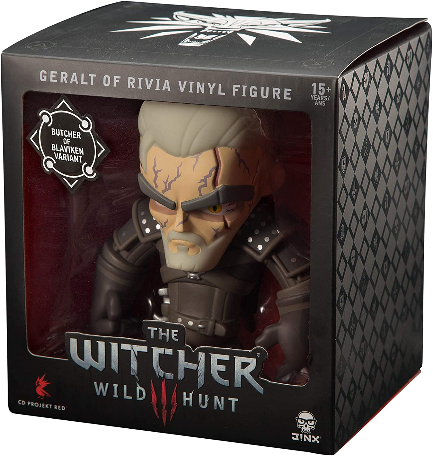 Amazon Com Jinx The Witcher 3 Butcher Of Blaviken Vinyl Action Figure 6 Tall Toys Games The butcher of blaviken.this story takes places many years before the games. jinx the witcher 3 butcher of blaviken vinyl action figure 6 tall